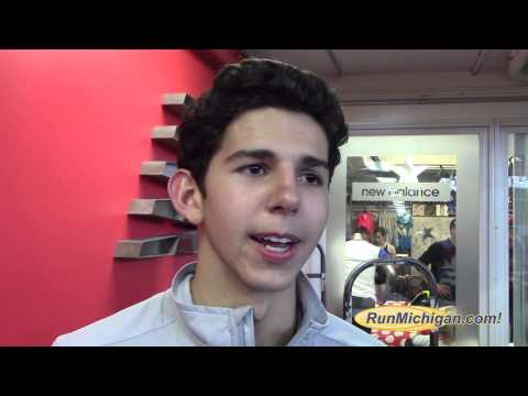 Interview: Grant Fisher - 2015 New Balance Indoor T&F Mile Champion. (4:03.54)