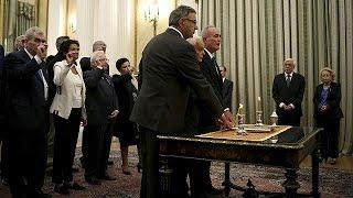 Ορκίστηκε η υπηρεσιακή κυβέρνηση - Σε προεκλογική περίοδο και επίσημα η Ελλάδα