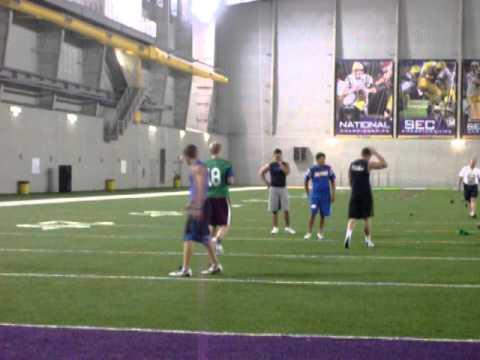 LSU Kicking Camp.MOV