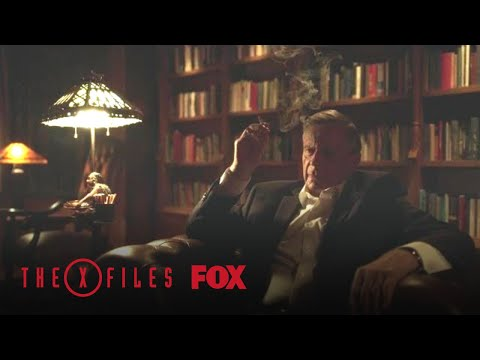 The Cigarette Smoking Man Tells The Story Of Life In The World   Season 11 Ep. 1   THE X-FILES