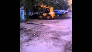 Скоробагач. Ремонт дороги на Ак. Проскуры Харьков