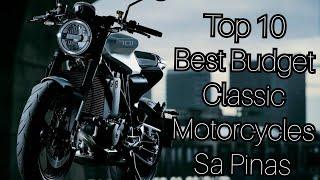 Top 10 Budget Classic Motorcycles sa Pinas Ngayong 2021!