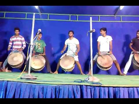 Sasi and Team's Drums on Stage