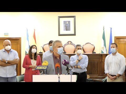 VÍDEO: Nuevas medidas para frenar la pandemia en Lucena. Intervención del alcalde, Juan Pérez