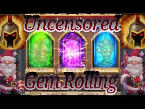 Uncensored 10K Gem Rolling Castle Clash IGG