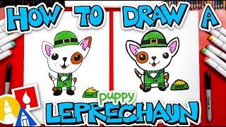How To Draw A Leprechaun Puppy