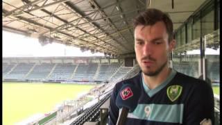 ADO-speler Mike Havenaar over Heracles Almelo en mogelijke transfer