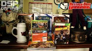 Release Day Unboxing 9-18-12: Borderlands 2 Deluxe Vault Hunter