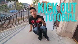 How to Breakdance | Kick Outs | Footwork Basics