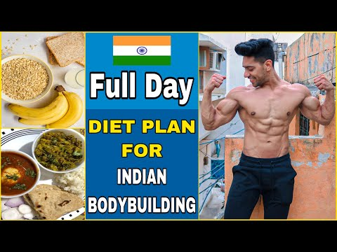 Diet + Workout Plan For Bodybuilding | Full Day Of Eating thumbnail