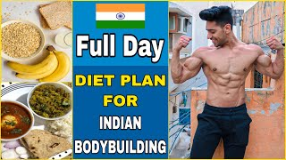 Diet + Workout Plan For Bodybuilding | Full Day Of Eating