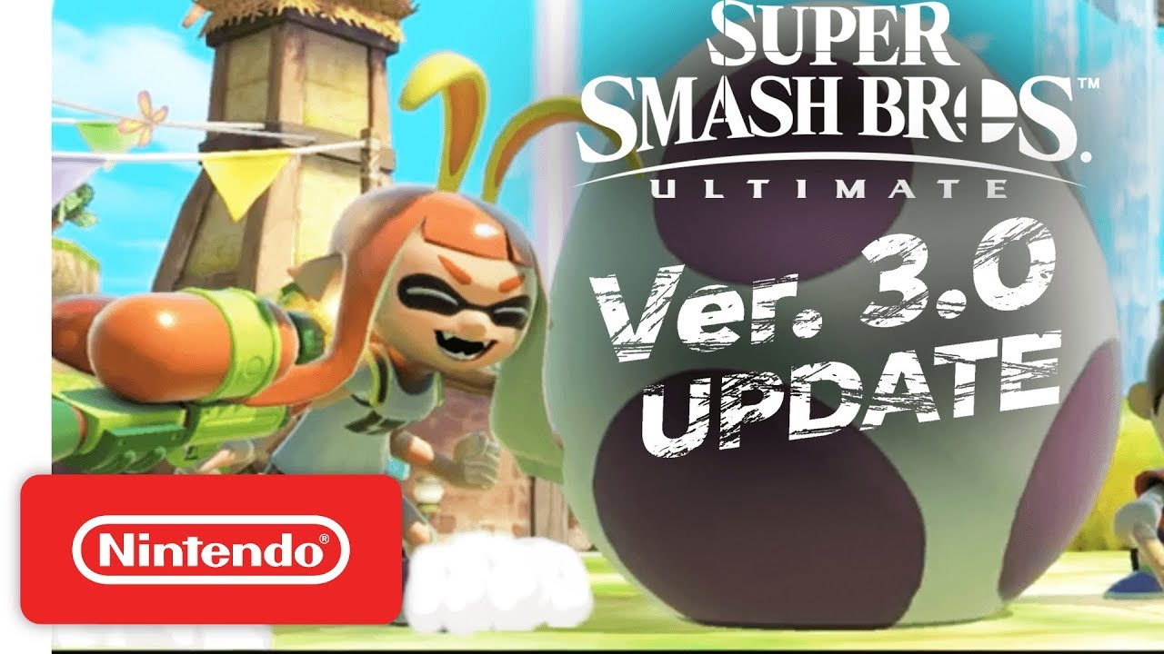 Smash Ultimate Version 3 0 0 Coming This Spring, Joker Will Arrive