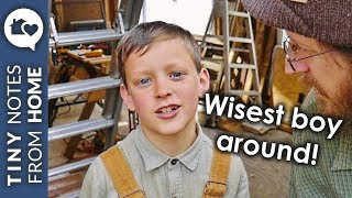 WISDOM from an 8-year-old BOY  //  V.007