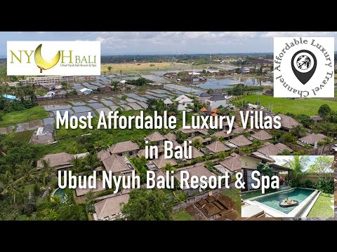 The Most Affordable Luxury Villas In Bali -  Ubud Nyuh Bali Resort & Spa In 4K