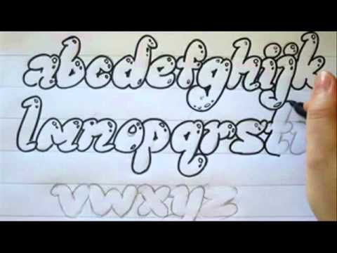 How To Add Reflections To Bubble Letters - YouTube