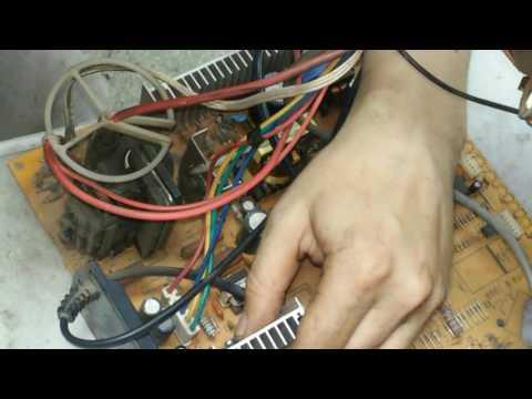видео: erisson 2120 не включается, +ремонт кадровой развертки