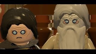 LEGO Lord of the Rings Walkthrough Part 10 - Warg Attack