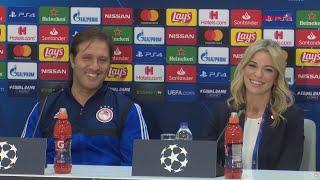 Συν. Τύπου κ. Μαρτίνς (Ολυμπιακός - Ερυθρός Αστέρας) / Press Conf. (Olympiacos - Crvena zvezda)
