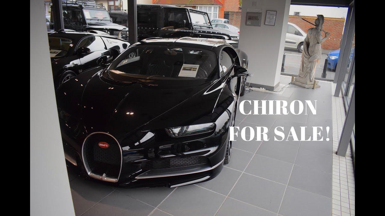 bugatti chiron for sale! (romans international current stock