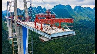 Китайцы построили мост-небоскреб