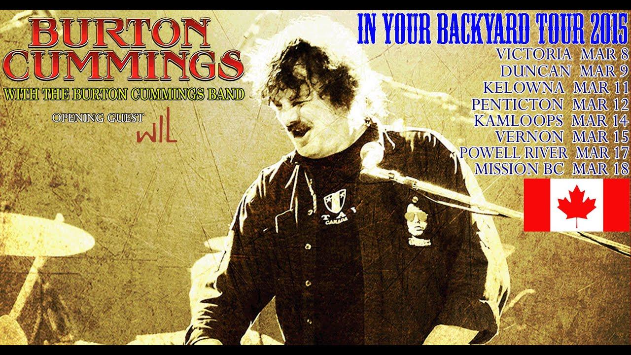 burton cummings and the burton cummings band