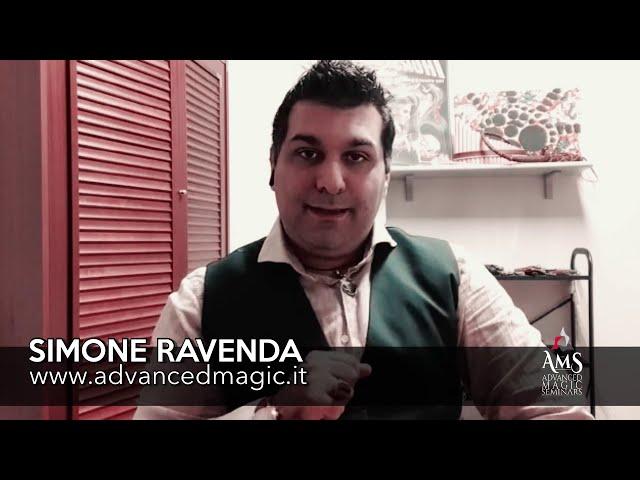 Simone Ravenda presenta AMS