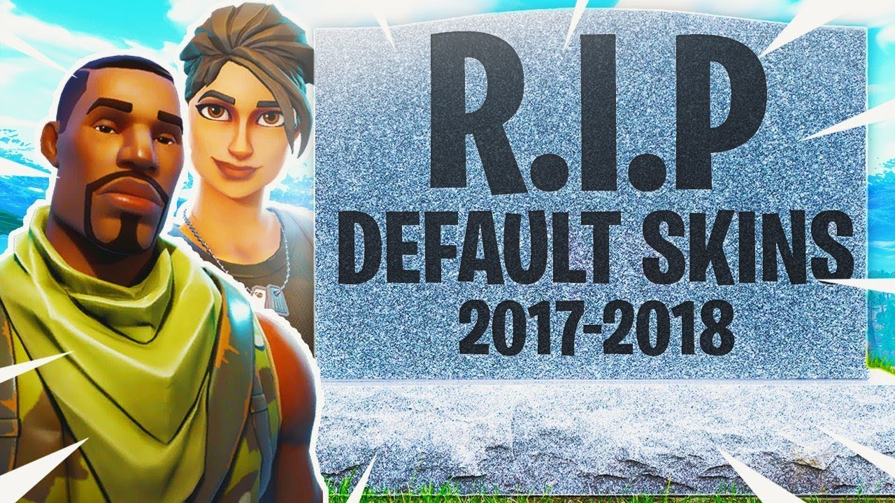 The Default Skins Removed In Fortnite Youtube