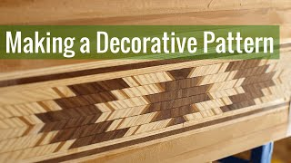 Making a Decorative Pattern (Ep 5 - Cedar Strip Canoe Build)