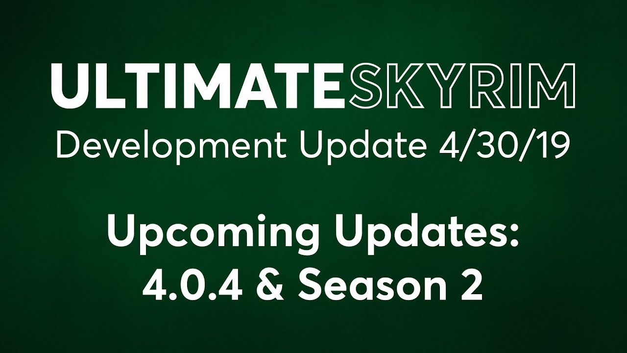 News — Ultimate Skyrim