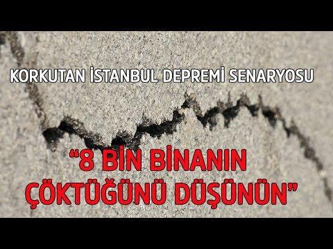 Kandilli büyük İstanbul depremi senaryosu: 8 bin binanın yıkıldığını düşünün - Prof. Dr. Naci Görür