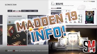All The Sets, Solos, New Pack Opening Animations, & Power Ups! Madden 19 News!