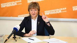 Руководитель Inter Media Group Анна Безлюдная - интервью (2/3)