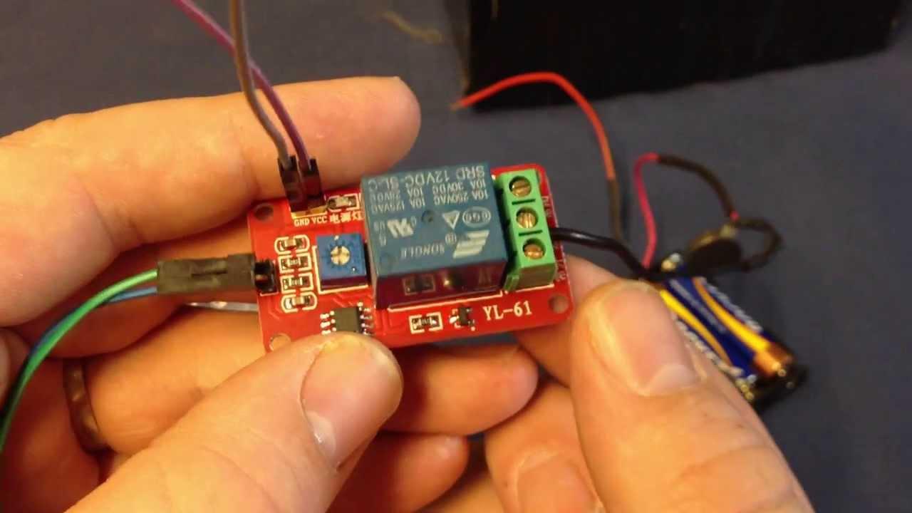 12v relay module soil moisture soil moisture sensor robot switch on off a8 [ 1280 x 720 Pixel ]