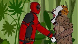 Deadpool Pennywise ONU vs - karikatür Çizim 2