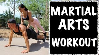 5 Minute At Home Martial Arts Workout - Amazing!
