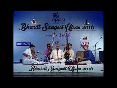 Sri. Vijay Siva l Sampradaaya Kutcheri l Bharat Sangeet Utsav 2016 l NGS