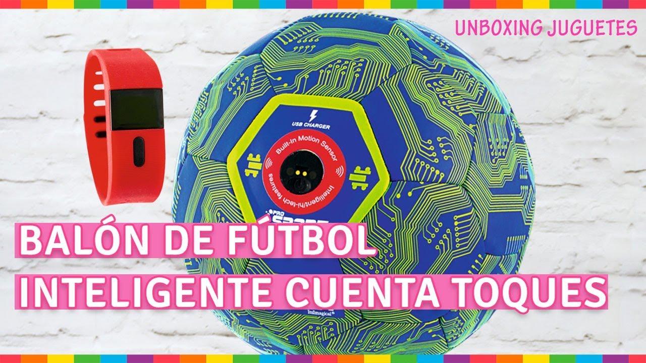UNBOXING Balón de fútbol inteligente cuenta toques - YouTube 65639efe63295