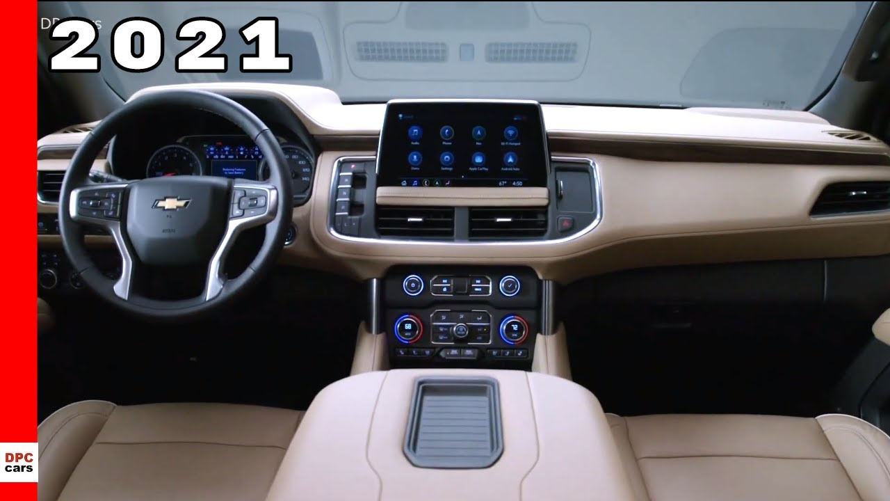 2021 Chevrolet Tahoe and Suburban Interior Cabin - YouTube