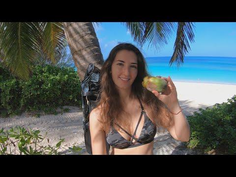 Paradise Island, Bahamas (underwater metal detecting)