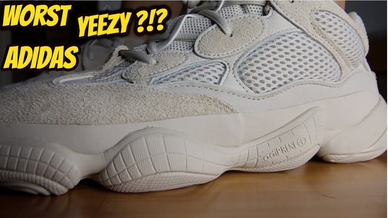 0c54f8bcc1e WORST ADIDAS YEEZY! ! ADIDAS YEEZY 500 BLUSH REVIEW ON FEET - YouTube