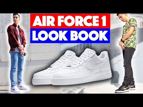 HOW TO STYLE - Nike Air Force 1 (Outfit Ideas)