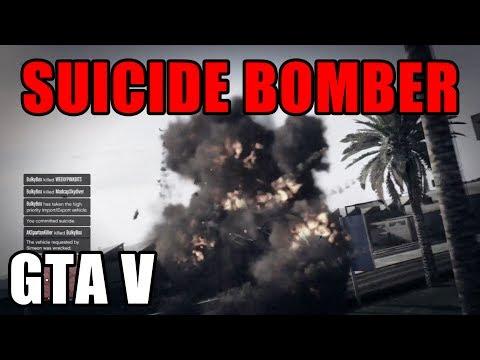 GTA 5 - SUICIDE BOMBER & SHARPSHOOTER!!!
