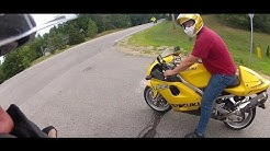 It's yellow! Suzuki TL 1000 R Review sort of.