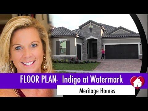 New Homes Winter Garden Florida The Indigo Plan By
