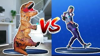 Baixar FORTNITE DANCE CHALLENGE as a DINOSAUR!
