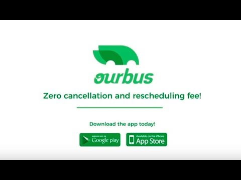 Zero cancellation fee & no rescheduling fee while booking bus ticket with Ourbus