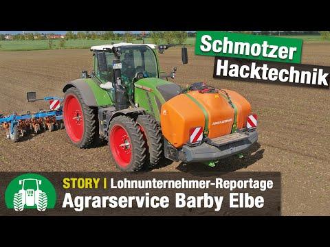 Agrarservice Barby Elbe im Einsatz | Lohnunternehmen (inkl. FendtONE + Schmotzer Venterra 2K)