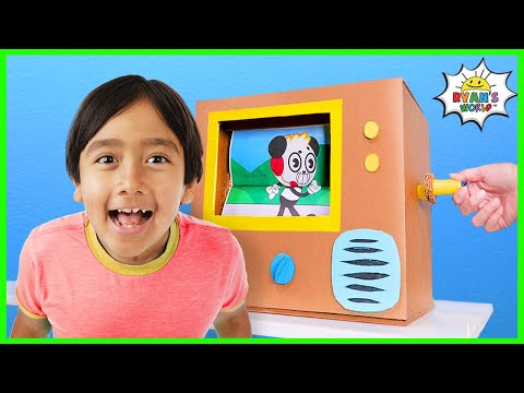 How to Make Flipbook Animation Machine at Home from Cardboard