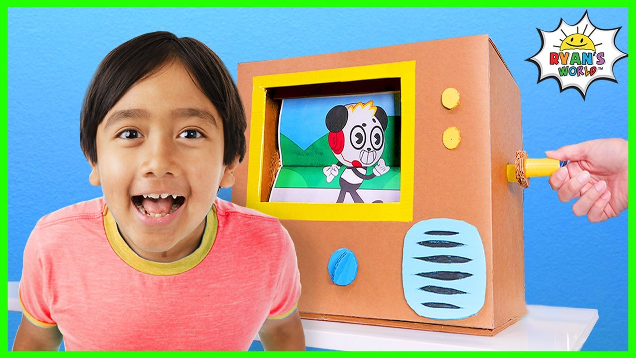 Download How to Make Flipbook Animation Machine at Home from Cardboard