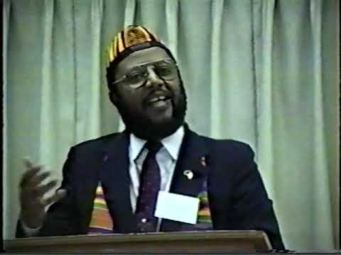 """Dr. Wade Nobles   """"Is it Ethnic Psychology or is it Memorex"""" 